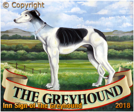 Hawkesbury Stop : Inn Sign of The Greyhound [2018]