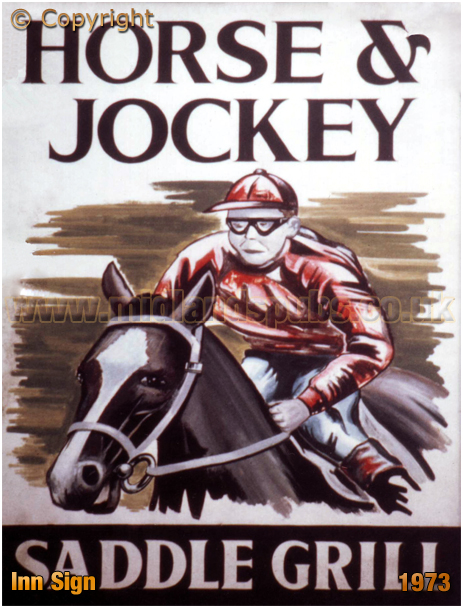Inkford Brook : Inn Sign of the Horse and Jockey [1973]