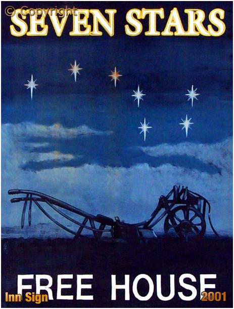 Oldswinford : Inn Sign of the Seven Stars [2001]
