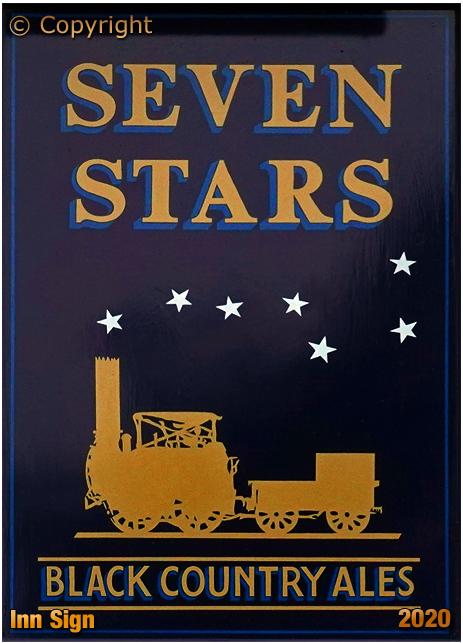Oldswinford : Inn Sign of the Seven Stars [2020]
