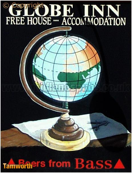 Tamworth : Inn Sign of the Globe Inn [2006]