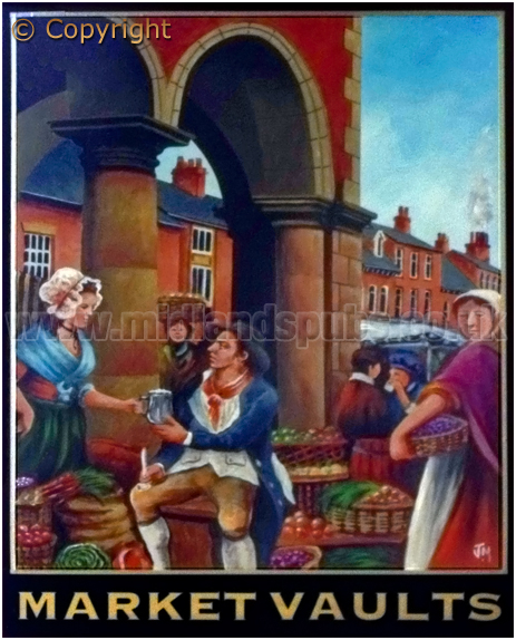 Tamworth : Inn Sign of the Market Vaults [2012]