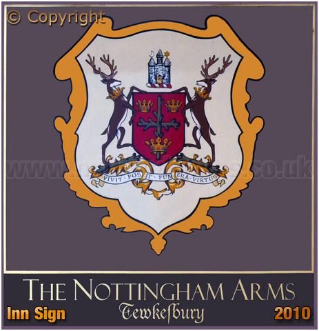 Tewkesbury : Inn Sign of the Nottingham Arms [2010]