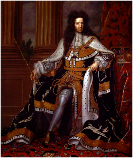 King William III based on a work by Jan Henrik Brandon [1697]