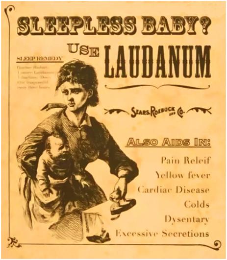 Use Laudanam for Pain Relief