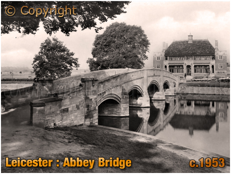 Leicester : Abbey Bridge and Pavilion [c.1953]