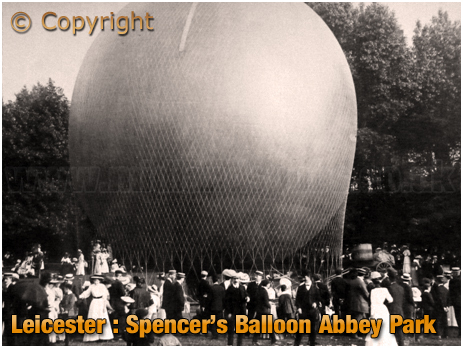 Leicester : Spencer's Balloon at Abbey Park