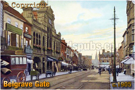Belgrave Gate at Leicester [c.1905]