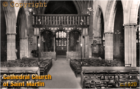 Cathedral Church of Saint Martin at Leicester [c.1920]