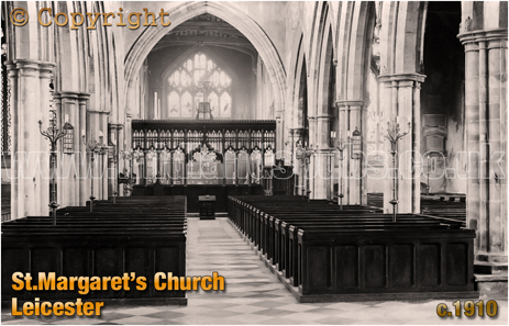 Leicester : Church of Saint Margaret [c.1910]