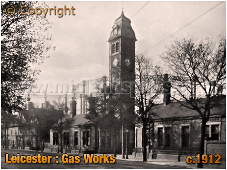 Leicester : Gas Works [c.1912]