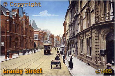 Granby Street at Leicester [c.1905]