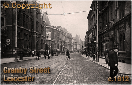 Granby Street in Leicester [c.1912]