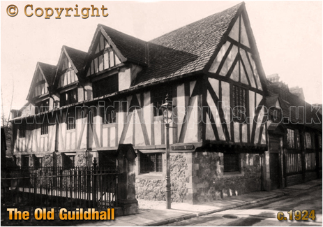 The Old Guildhall at Leicester [c.1924]