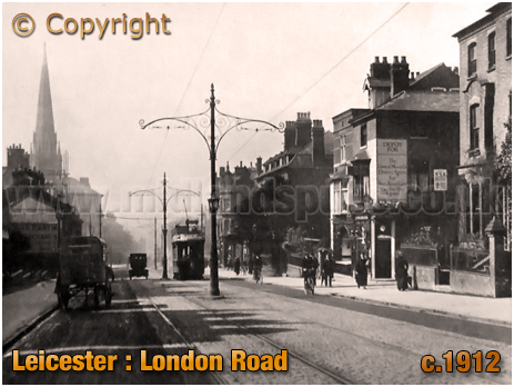 Leicester : London Road [c.1912]