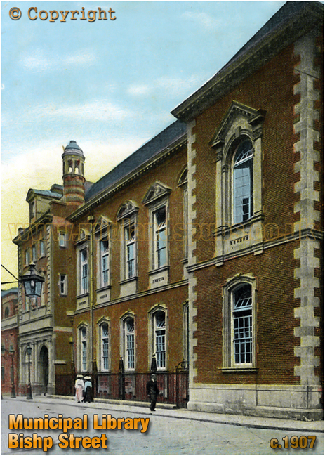 Municipal Library at Leicester [c.1907]