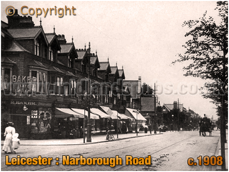 Leicester : Narborough Road [c.1908]