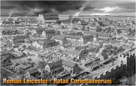 Roman Town of Ratae Corieltauvorum