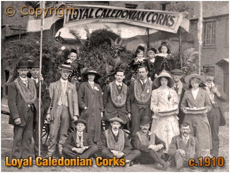 Lodge Members of Loyal Caledonian Corks [c.1910]