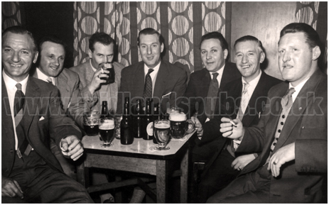 Men Drinking in a Pub [c.1954]