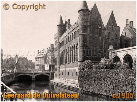 Gent : Geeraard de Duivelsteen [c.1905]