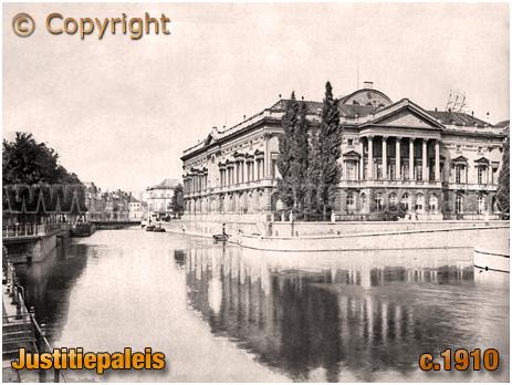 Gent : Justitiepaleis from Lindenlei [c.1910]