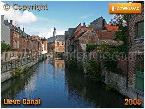Gent : Lieve Canal from Brug der Keizerlijke Geneugten [2008]