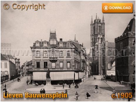 Gent : Lieven Bauwensplein [c.1905]