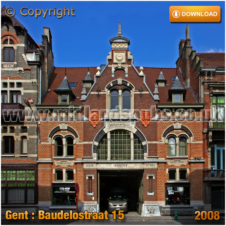 Gent : Former Metal Factory at Baudelostraat 15 [2008]