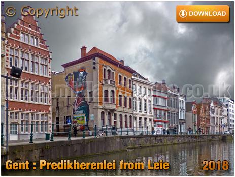 Gent : Predikherenlei from The Leie [2018]