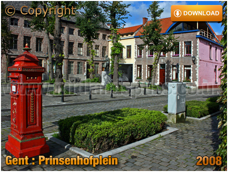 Gent : Prinsenhofplein [2008]