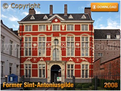 Gent : Former Sint-Antoniusgilde at Sint-Antoniuskaai [2008]