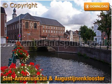 Gent : Sint-Antoniuskaai and Augustijnenklooster [2008]
