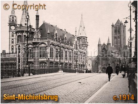 Gent : Sint-Michielsbrug [c.1914]