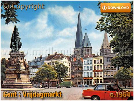 Gent : Vrijdagmarkt [c.1964]
