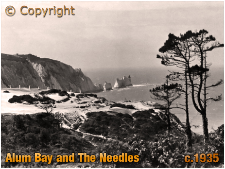 Alum Bay : The Needles [c.1935]
