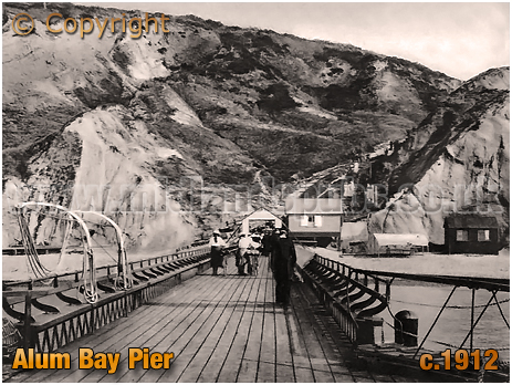 Alum Bay Pier [c.1912]