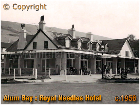 Alum Bay : Royal Needles Hotel [c.1956]