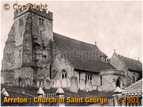 Arreton : Church of Saint George [c.1907]