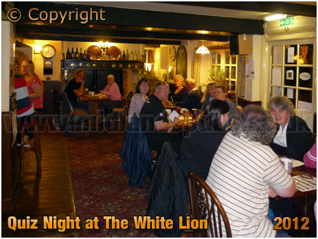 Arreton : Quiz Night at The White Lion [2012]