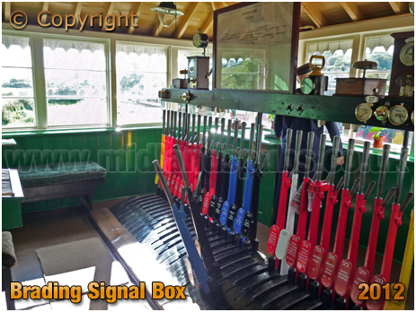 Brading : Railway Station Signal Box [2012]