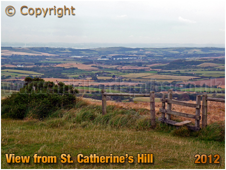 Niton Down : View from Saint Catherine's Hill [2012]