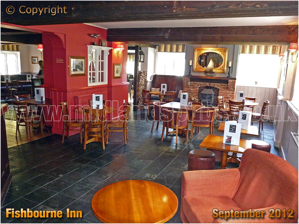 Interior of the Fishbourne Inn [2012]