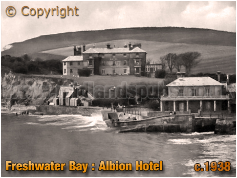 Freshwater Bay : Albion Hotel [c.1938]