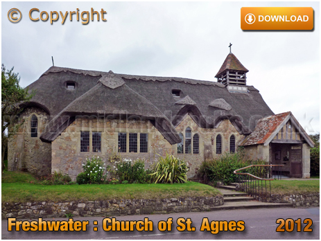 Freshwater : Church of Saint Agnes [2012]