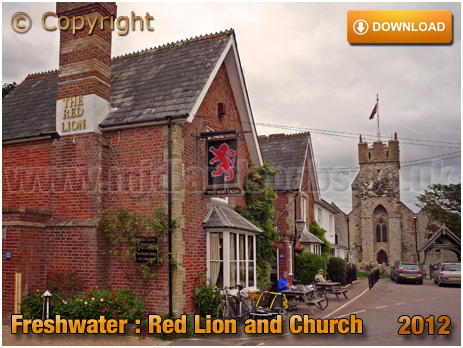 Freshwater : The Red Lion and Church [2012]