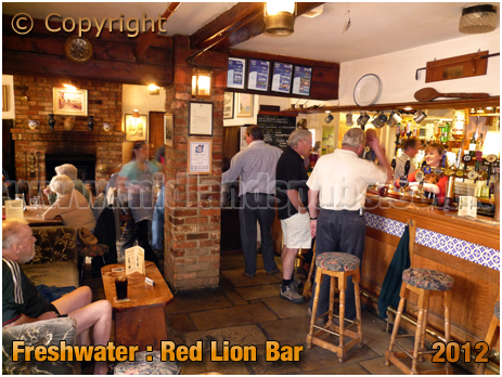 Freshwater : Bar of The Red Lion [2012]