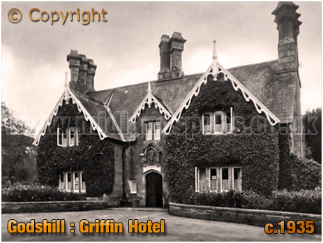 Godshill : Griffin Hotel [c.1935]