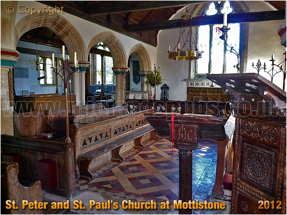 Mottistone : St. Peter and St. Paul's Church [2012]