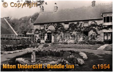 Niton Undercliff : Buddle Inn [c.1954]